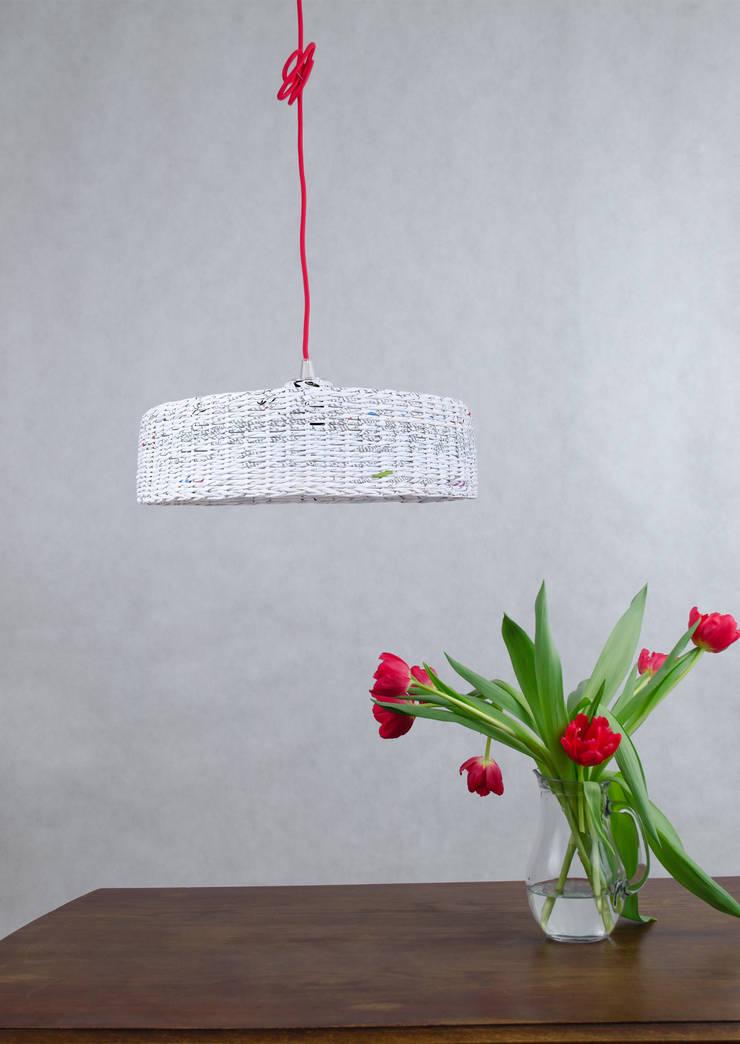 Lampa Hoc: styl , w kategorii  zaprojektowany przez Barbórka Design,Minimalistyczny