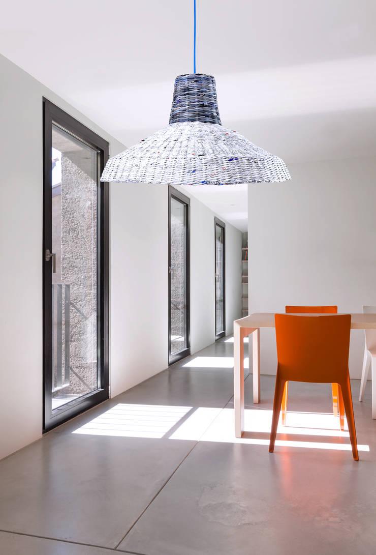 Fabrykantka: styl , w kategorii Jadalnia zaprojektowany przez Barbórka Design
