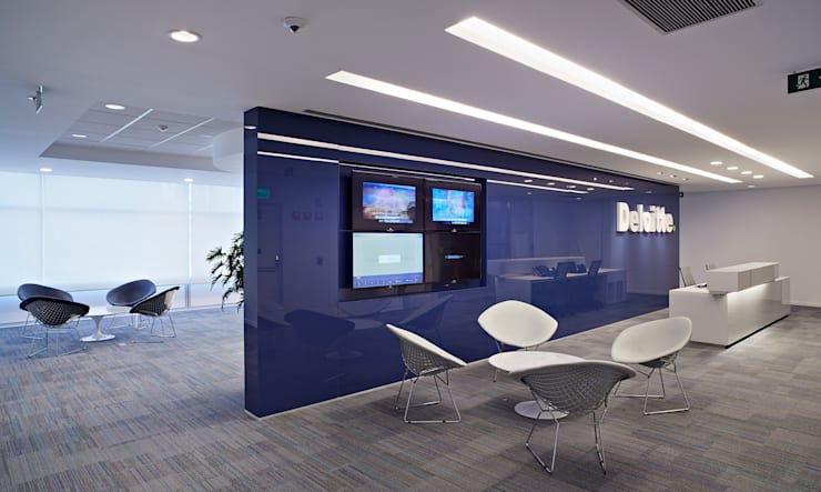 Deloitte Brasil: Espaços comerciais  por Athié Wohnrath Associados