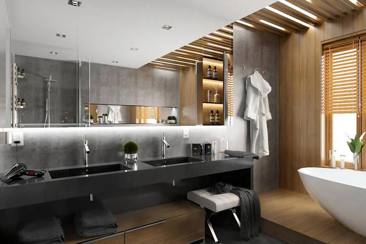 APARTMENT/6: Ванные комнаты в . Автор – ONE STUDIO