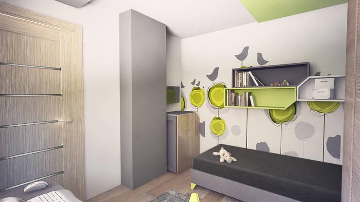 Pokój chłopca: styl , w kategorii Pokój dziecięcy zaprojektowany przez INTUS DeSiGn,Nowoczesny