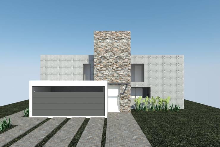 VIVIENDA SN: Casas de estilo  por Estudio 247 Arquitectura