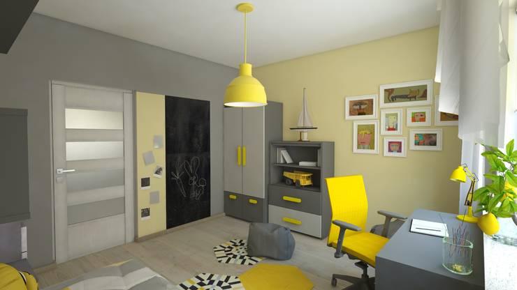 Pokój Krzysia: styl , w kategorii Pokój dziecięcy zaprojektowany przez INTUS DeSiGn,