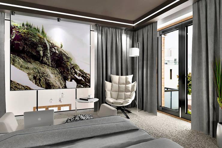 Chambre de style  par ONE STUDIO, Scandinave