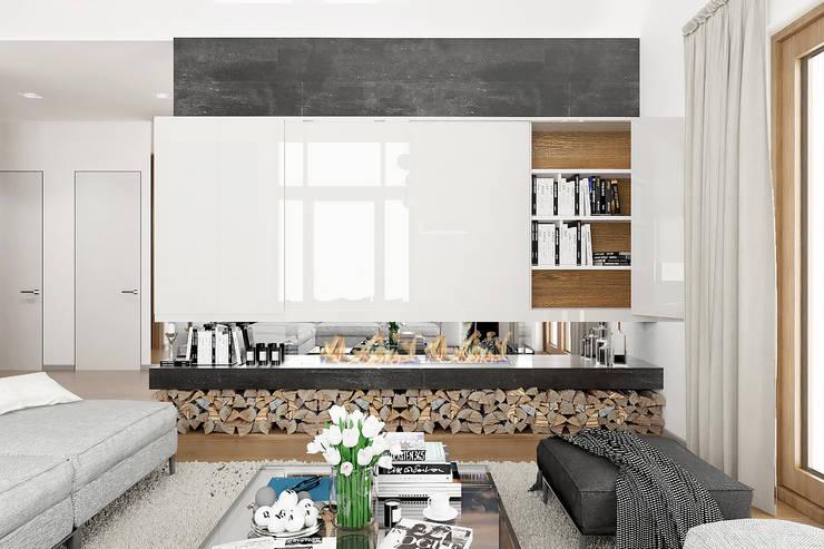 Salon de style  par ONE STUDIO, Scandinave
