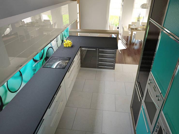 Dom prywatny: styl , w kategorii Kuchnia zaprojektowany przez INTUS DeSiGn