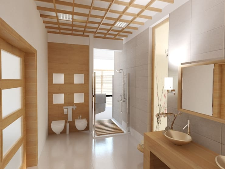 Dom Kędzierzyn-Koźle: styl , w kategorii Łazienka zaprojektowany przez INTUS DeSiGn