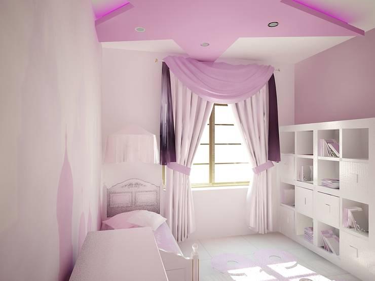 Dom Kędzierzyn-Koźle: styl , w kategorii Pokój dziecięcy zaprojektowany przez INTUS DeSiGn