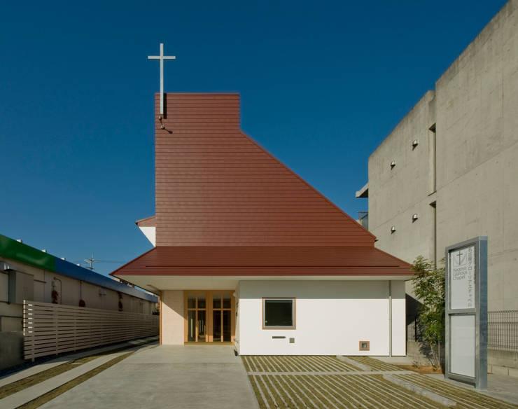 名古屋グローリアスチャペル: 池戸建築事務所が手掛けた家です。
