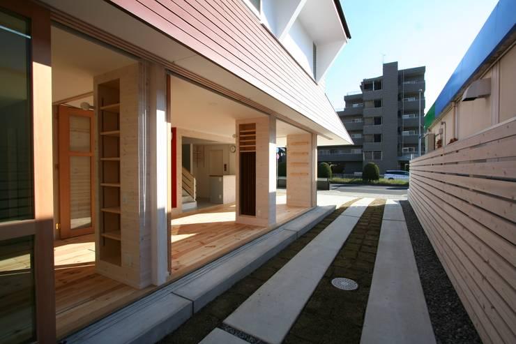 名古屋グローリアスチャペル: 池戸建築事務所が手掛けた庭です。