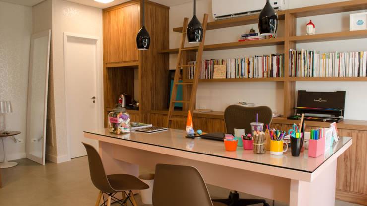 MEM Arquitetura의  서재 & 사무실