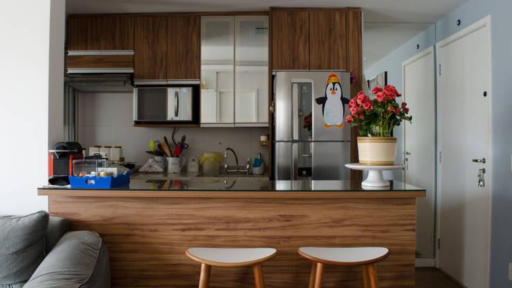 Decoração Vila Andrade.: Cozinhas  por MEM Arquitetura