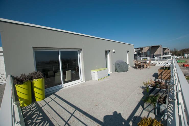 Aménagement d\'une terrasse plein sud de 45 m² von Vertigo ...