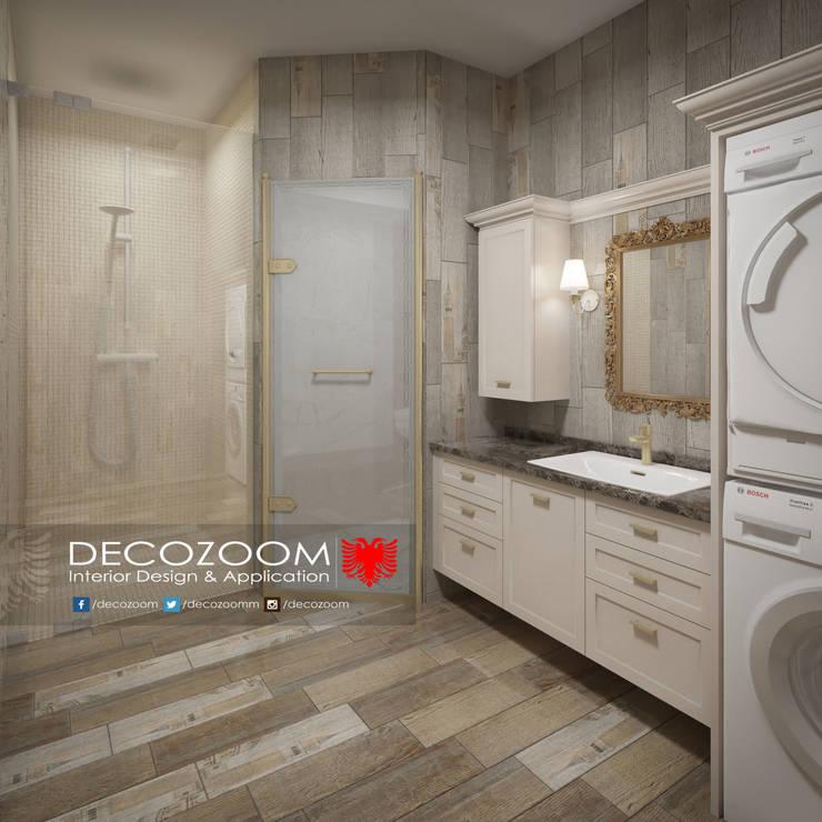 DECOZOOM INTERIOR DESIGN – Bathroom:  tarz İç Dekorasyon