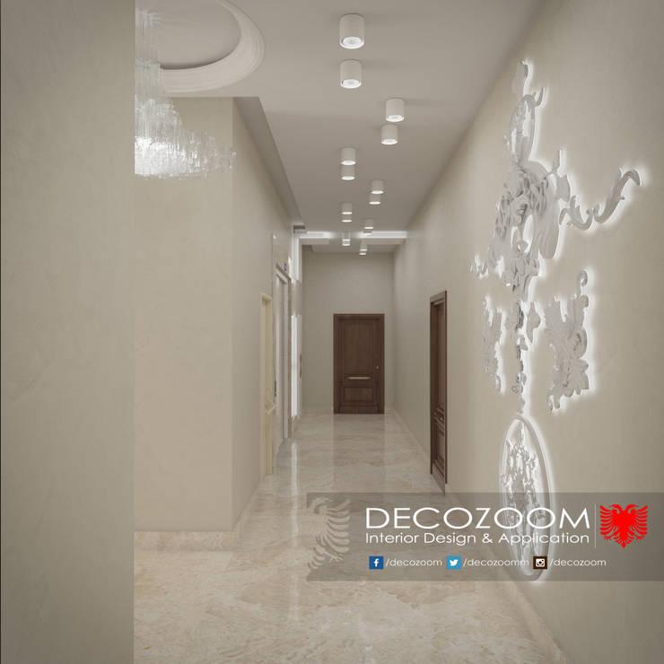 DECOZOOM INTERIOR DESIGN – Entrance:  tarz Koridor, Hol & Merdivenler