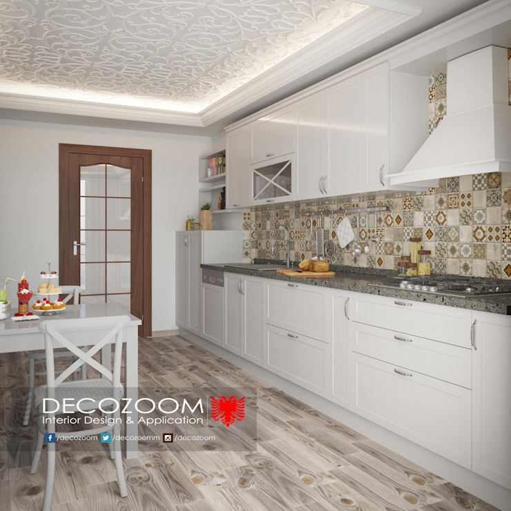 DECOZOOM INTERIOR DESIGN – Kitchen:  tarz Mutfak