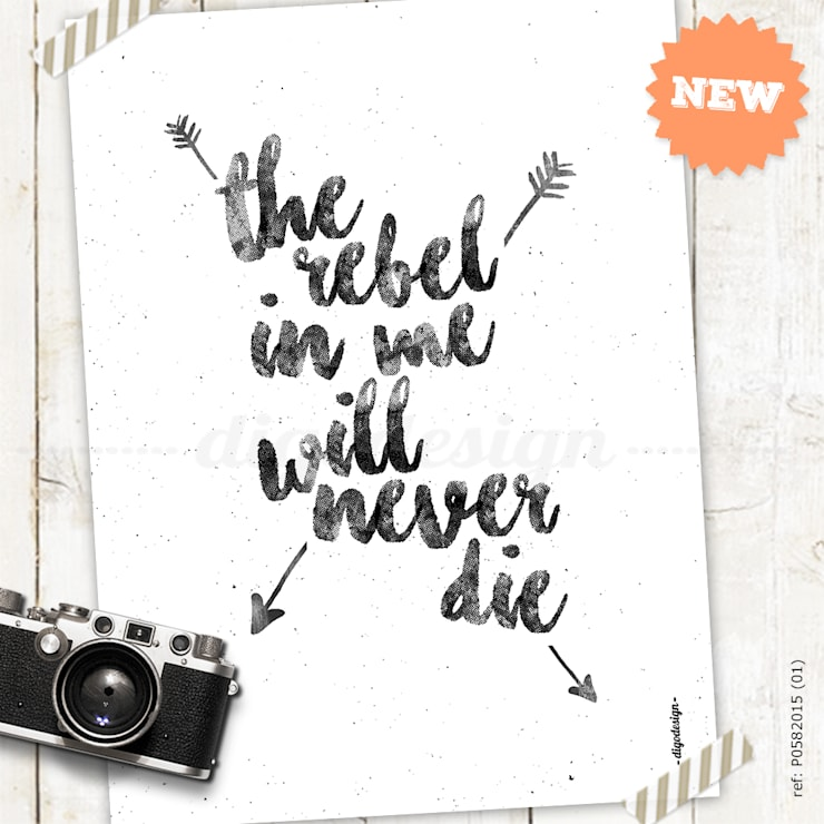 ★ poster ★ the rebel in me ★: Casa  por Digo