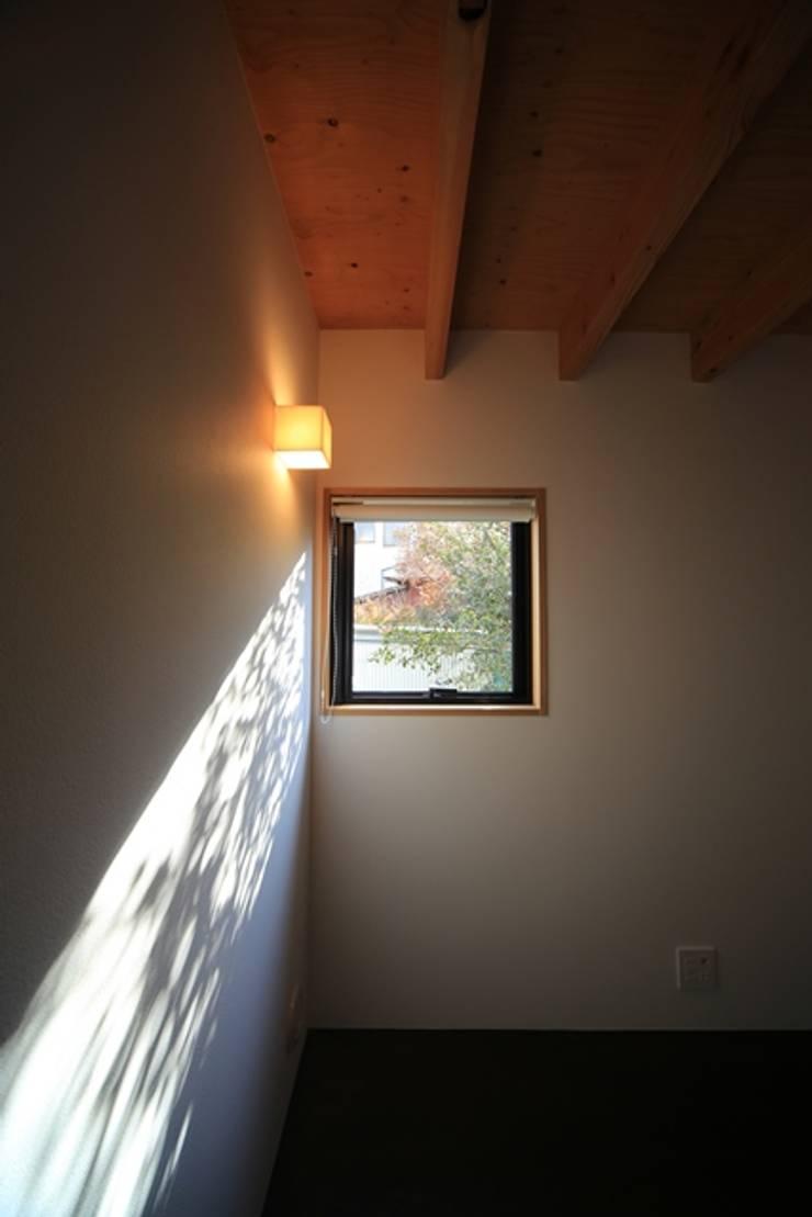 小谷の家: 早田雄次郎建築設計事務所/Yujiro Hayata Architect & Associatesが手掛けた和室です。,