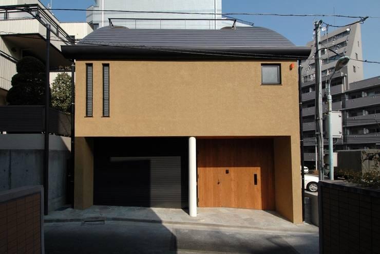 Projekty,  Domy zaprojektowane przez 中川龍吾建築設計事務所
