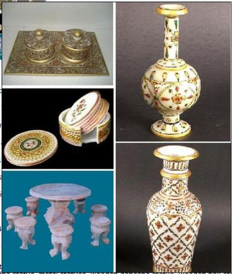 Decorative Items:  Artwork by Vinod Murti Museum