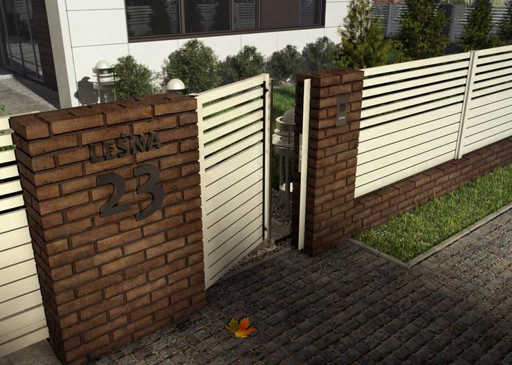 Ogrodzenie BREEZE: styl , w kategorii Ogród zaprojektowany przez Nive,