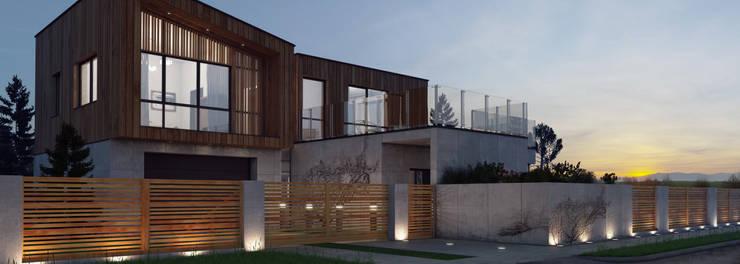 Ogrodzenie IMPRESSIVE: styl , w kategorii Ogród zaprojektowany przez Nive