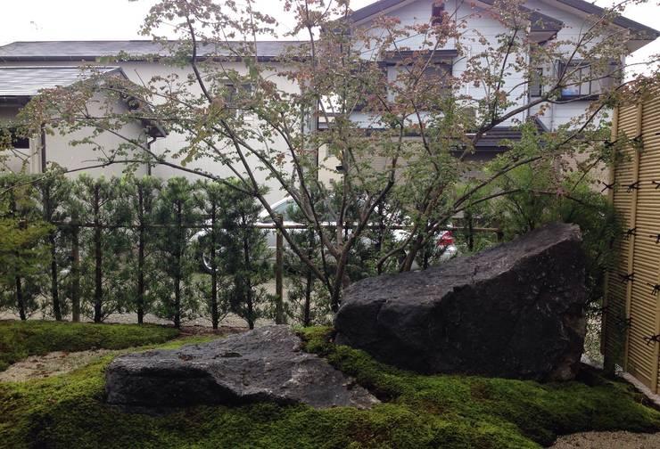 Tuin door 庭園空間ラボ teienkuukan Labo