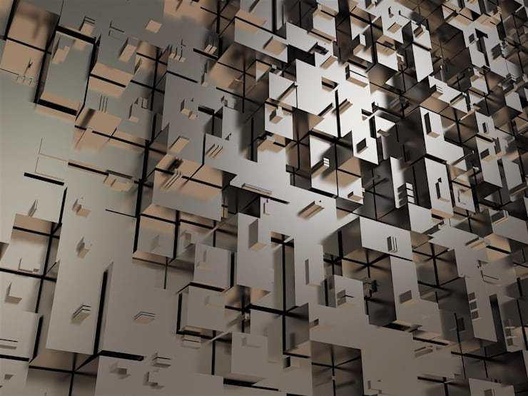 DEKOROS – MODERN VE GENÇ 3D VE YARATICI DUVAR POSTERLERİ: modern tarz Duvar & Zemin