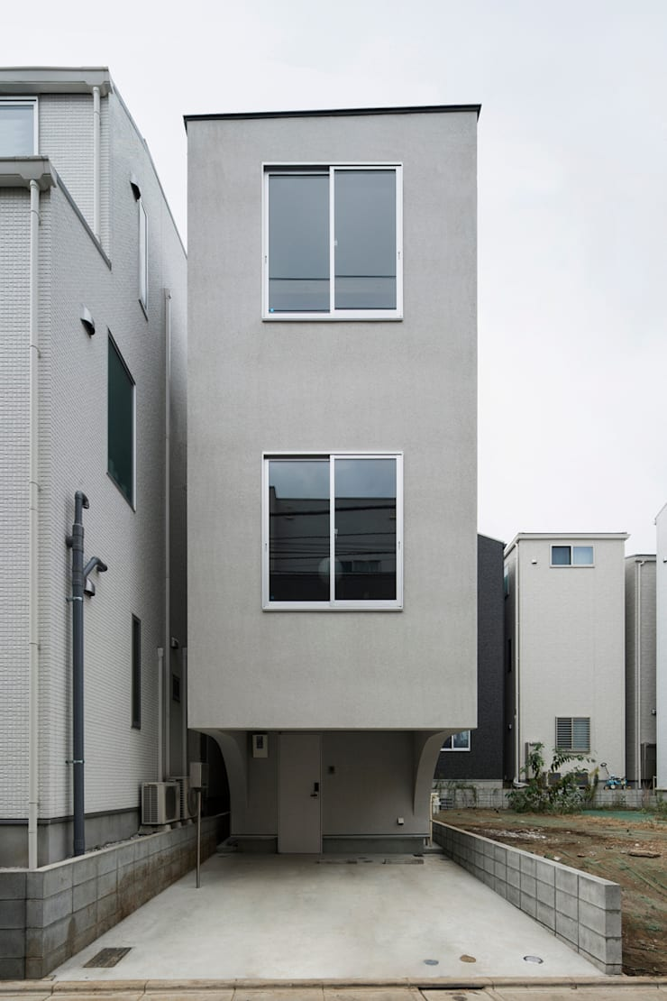 Facade:  Houses by Kentaro Maeda Architects