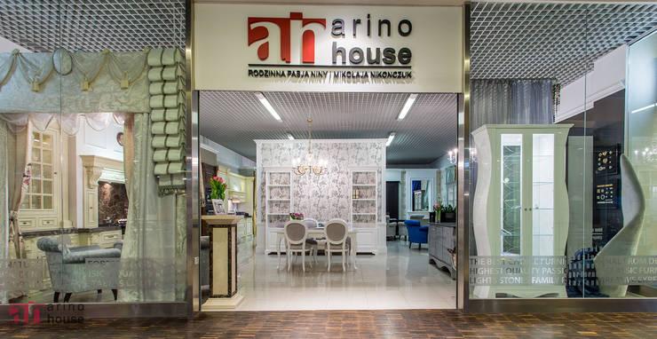 Atelier Arino House: styl , w kategorii Jadalnia zaprojektowany przez Arino House Sp. z o. o.