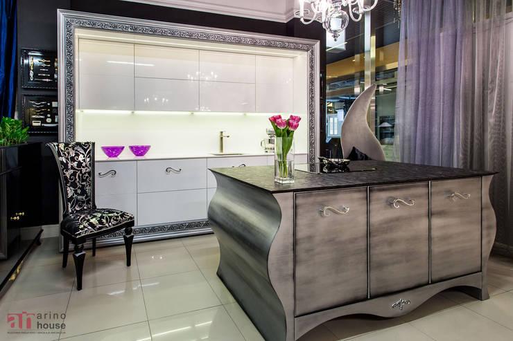 Meble kuchenne z kolekcji Glamour: styl , w kategorii Kuchnia zaprojektowany przez Arino House Sp. z o. o.