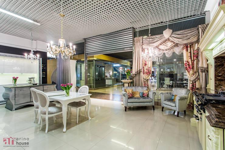 Dekracje Anny Budnik : styl , w kategorii Salon zaprojektowany przez Arino House Sp. z o. o.