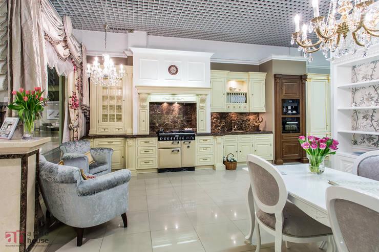 Meble kuchenne z kolekcji Oxford : styl , w kategorii  zaprojektowany przez Arino House Sp. z o. o.