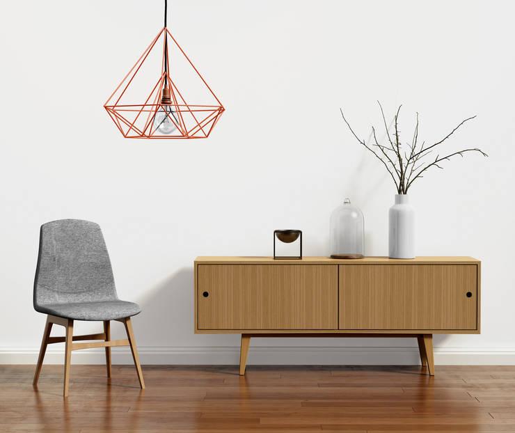skandynawska prostota: styl , w kategorii Salon zaprojektowany przez onemarket.pl,Skandynawski Drewno O efekcie drewna