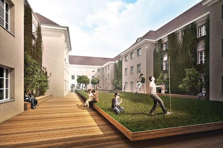 AKADEMIK HANKA: styl , w kategorii Hotele zaprojektowany przez PROSTO ARCHITEKCI,Klasyczny