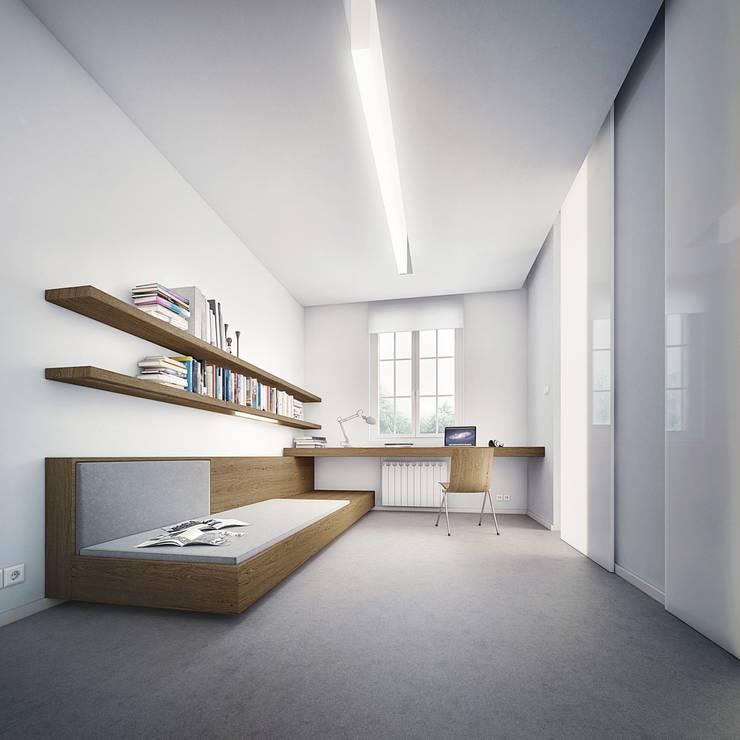 AKADEMIK HANKA: styl , w kategorii Hotele zaprojektowany przez PROSTO ARCHITEKCI,Nowoczesny