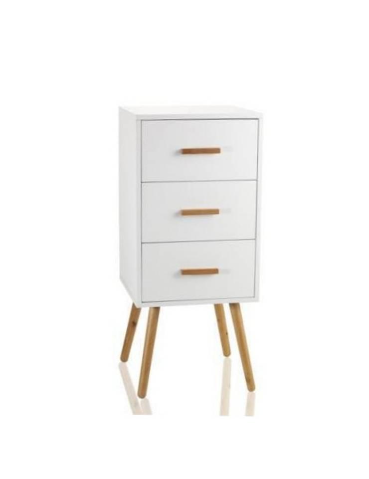 Komoda CASSETTIERA: styl , w kategorii  zaprojektowany przez onemarket.pl,Skandynawski Drewno O efekcie drewna