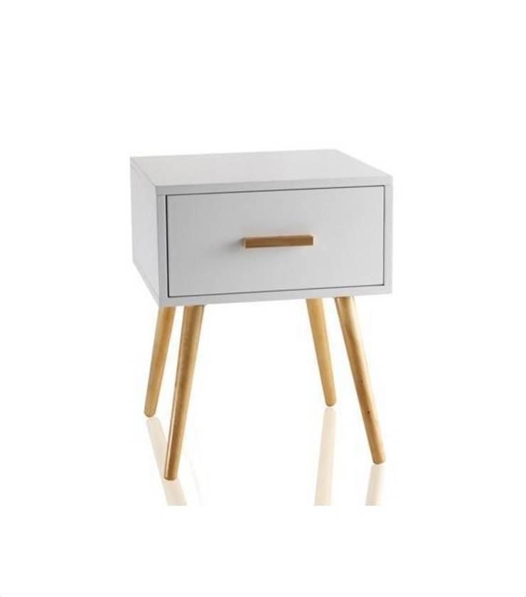 Komoda COMODINO S: styl , w kategorii  zaprojektowany przez onemarket.pl,Skandynawski Drewno O efekcie drewna