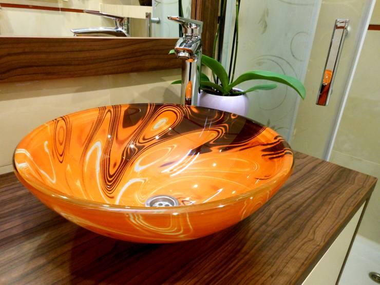 Łazienka: styl , w kategorii Łazienka zaprojektowany przez archJudyta Aranżacja Wnętrz