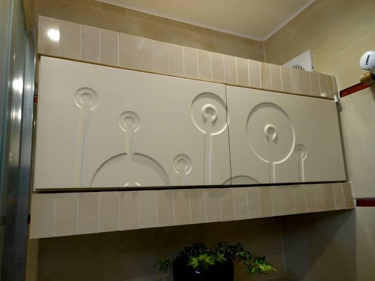 Realizacja małej łazienki: styl , w kategorii Łazienka zaprojektowany przez archJudyta Aranżacja Wnętrz