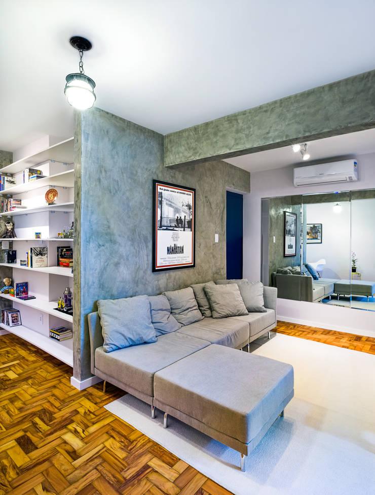 Sala de tv: Salas de estar  por Studio ML
