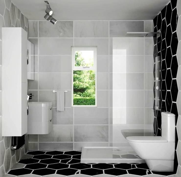 Projekty,  Łazienka zaprojektowane przez Lena Lobiv Interior Design