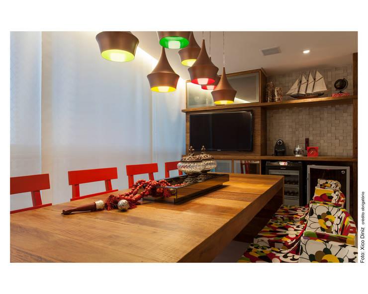 Apartamento IC: Terraços  por Bastos & Duarte