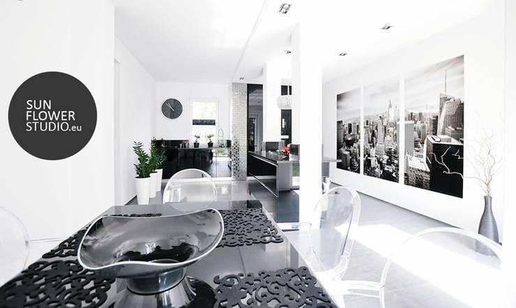Vertis: styl , w kategorii Jadalnia zaprojektowany przez Sunflower Studio