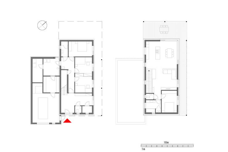 Projekty,  Domy zaprojektowane przez Architekt Stefan Toifl