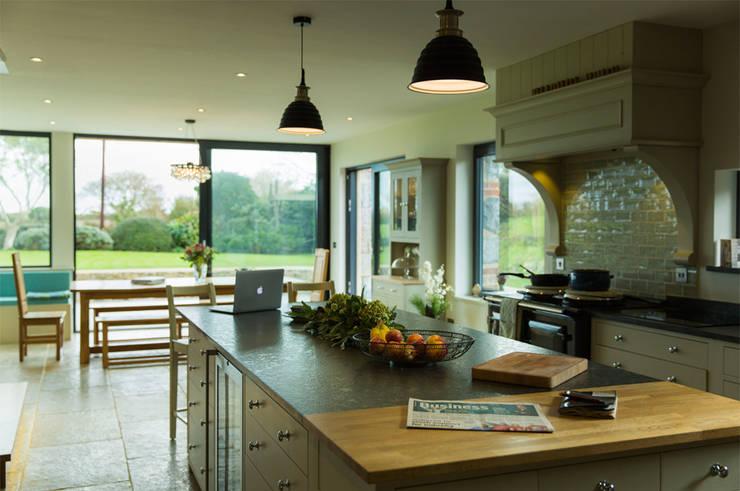 La Cherterie: modern Kitchen by CCD Architects