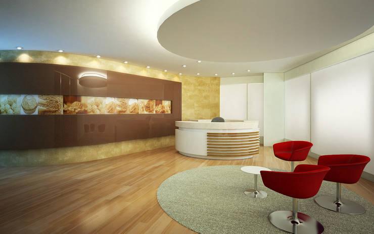 escritórios: Escritórios  por GNC arquitetura e interiores
