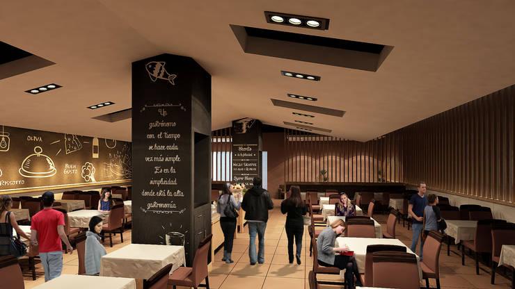 Sal Marina Resto-Bar: Restaurantes de estilo  por NOGARQ C.A.