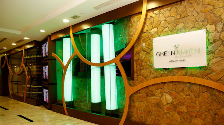 Green Martini: Bares y Clubs de estilo  por NOGARQ C.A.