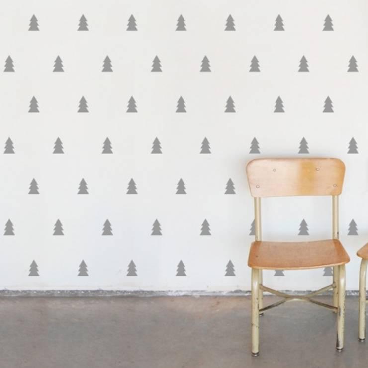 stickers de parede: Quarto de crianças  por This Little Room